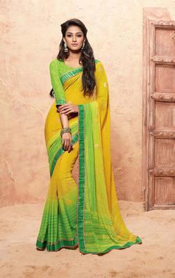 Yellow Green Blouse 15
