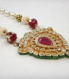 Buy Paan Ruby Set necklace-set online