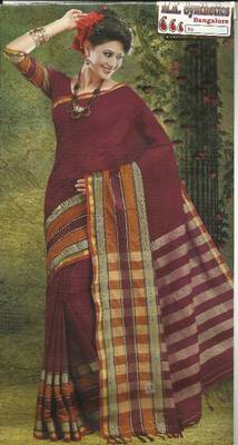 COTTON SAREE - PANKHURI