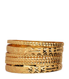 Buy Gold Plated Bangle bangles-and-bracelet online