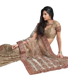 Buy Designer Indian Sari SimSim 7014 B tissue-saree online