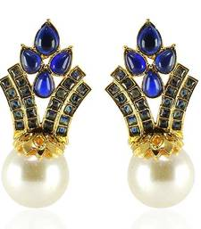 Buy Exclusive Gold plated Antique Earring danglers-drop online
