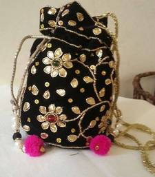 Buy BLACK FULL GOTTA WORK POTLI potli-bag online