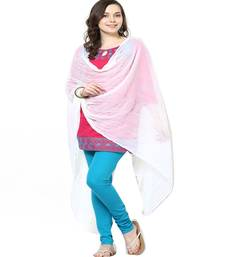 Buy Chiffon Dupatta White stole-and-dupatta online