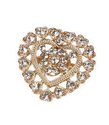 Buy Fascinating American Diamond Brooch brooch online