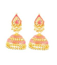 Buy PINK BEAUTY JHUMKA EARRING jhumka online