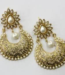 Buy ANTIQUE GOLDEN PEARLS HANGINGS Other online