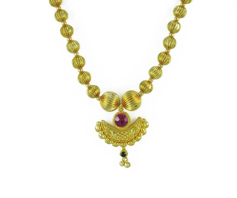 Buy Special Kolhapuri Necklace And Earring Set Online