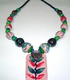 Buy Trendy Ceramic Beads Necklace online