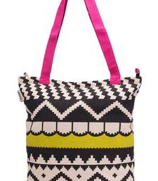 Buy Accrue, lime green and pink tote tote-bag online