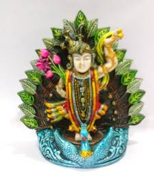 Buy Nathdrawa Shrinathji idol Resin Material Multicolor religious-item online