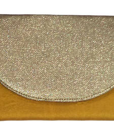 Buy Flat Envelope Golden Flap Purse clutch online