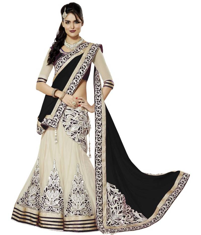 Image result for black lehenga choli photo
