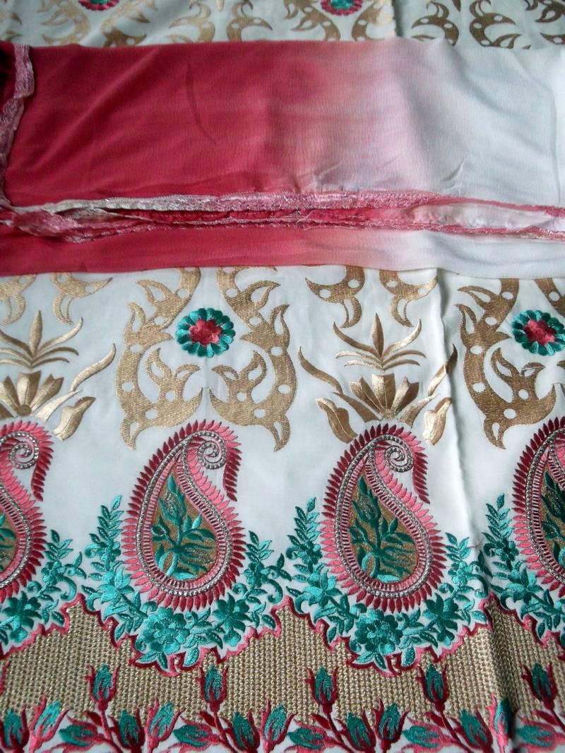 Buy kashmir designer embroidery zari work dress material