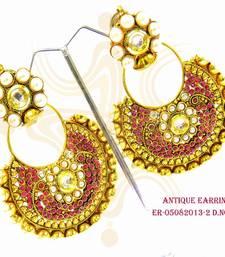 Buy Design no. 1.1093....Rs. 1850 Earring online