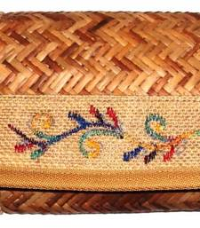 Buy Ladies Cane woven Jute Purse clutch online