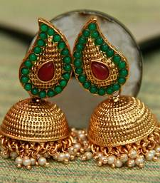 Buy Paisely Jumka - Multi Colour jhumka online