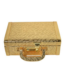 Buy Golden plain jewellery-box jewellery-box online