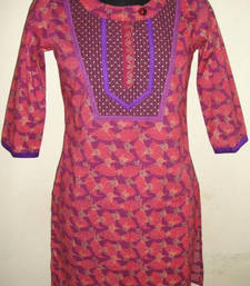 Buy Cotton Kurti kurtas-and-kurti online