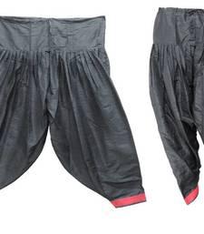 Buy Patiala Salwar Bottom Pants - Loose Pants - Semi Raw Silk Pants - Pleated Pants 902767 salwars-and-churidar online