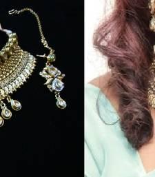 Buy Design no. 8B.1925....Rs. 5550 necklace-set online