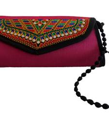 Buy Multi color Kuchi Work Purse anniversary-gift online