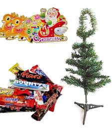 Buy Christmas Tree n 400gms Imported Chocolates Hamper 117 christmas-gift online