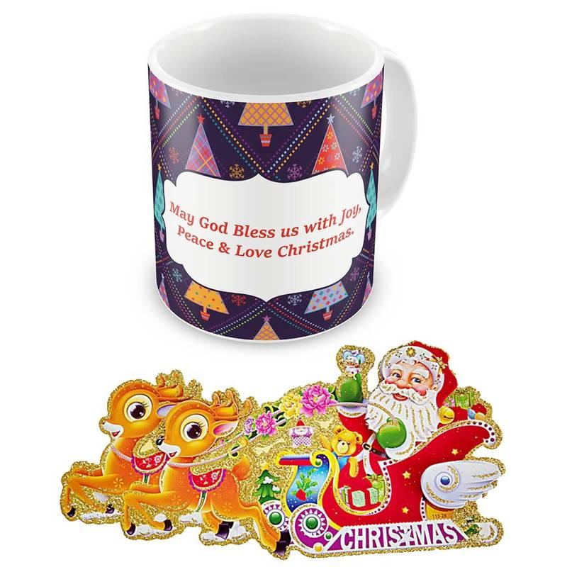 Buy Printed Design Cute Blue Coffee Mug Online