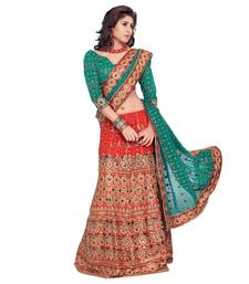 Buy Hypnotex Cotton Maroon Color Designer Lengha Choli XLNC8010C lehenga online