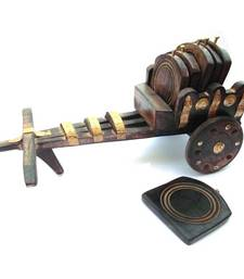 Buy Bullock Cart coaster stand other-home-accessory online