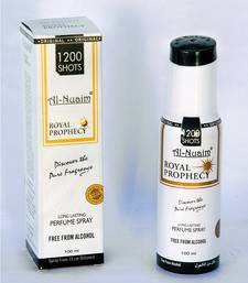 Buy AL NUAIM ROYAL PROPHECY 100ML 1200 SHOTS PERFUME gifts-for-him online