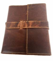 Buy handmade leather Refill diary office-opening-gift online