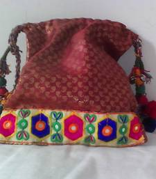 Buy HANDMADE POTLI BROCADE_52 potli-bag online