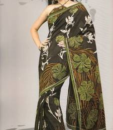 Buy Sarees Mal Mal Cotton Designer Prints With Blouse Piece D.No D1017 cotton-saree online