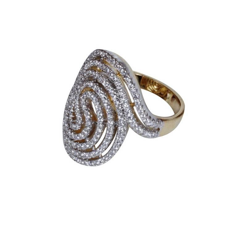 buy silver spiral ring