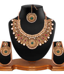 Buy Attractive Bridal Necklace Set necklace-set online