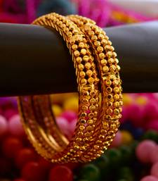 Buy Golden bangles -8 punjabi-jewellery online