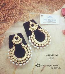 Buy Tamanna - Red Earring online