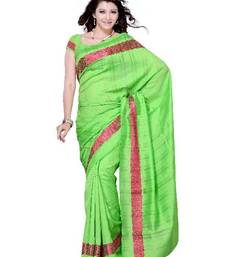 Buy Shimmering Festival/Party Wear Designer Saree by DIVA FASHION-Surat cotton-saree online