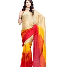 Buy Catchy Casual/partywear saree by DIVA FASHION- Surat chiffon-saree online