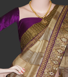 Buy silk fusion  bridal-saree online