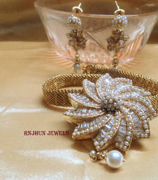 Buy designer pearls set necklace-set online