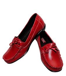 Buy Red richiee  moccasins shoes Shoe online