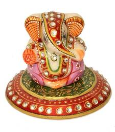 Buy Colorful Ganesha in Marble ganesh-chaturthi-gift online