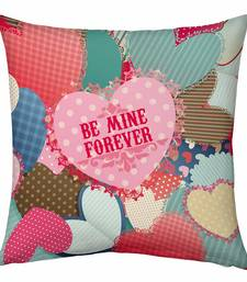 Buy Multicolor Design Romantic Printed Filled Cushion valentine-gift online
