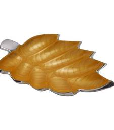 Buy Estrall:Splendor Series: Oak Leaf Tray decorative-plate online