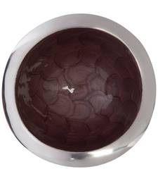 Buy SeEstrall:Splendor ries:Round Bowl with Rim:Brown decorative-plate online