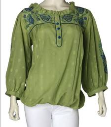 Buy Just Women - A contemporary design with an Ethnic touch top online