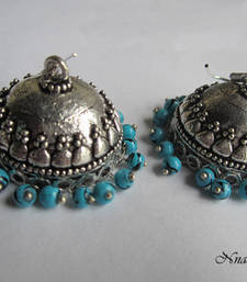 Buy Oxidized Jhumka  Earring online