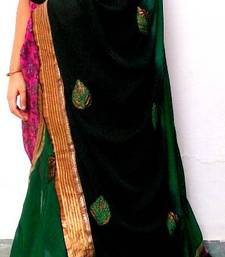 Buy Traditional green duppta  stole-and-dupatta online